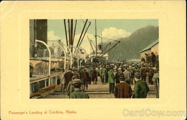 Passenger's Landing At Cordova