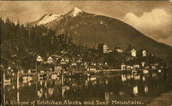 A Glimpse Of Ketchikan Alaska And Deer Mountain