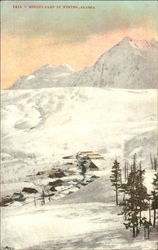 Mining Camp In Winter