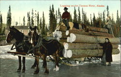Logging On The Tanana River