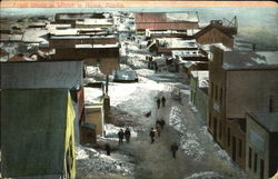 Front Street In Winter In Nome