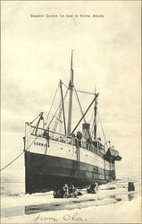 Steamer Corwin 1St Boat To Nome