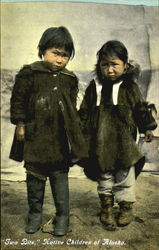 Native Children Of Alaska