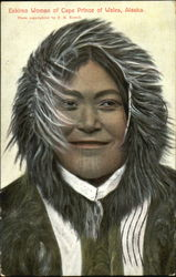 Eskimo Woman Of Cape Prince Of Wales