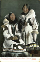 Eskimo Women In Native Dress
