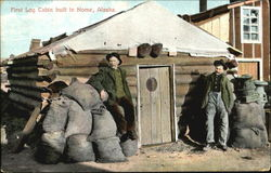 First Log Cabin Built In Nome