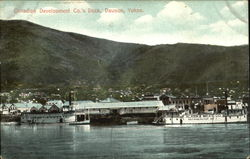 Canadian Development Co.'s Dock Postcard