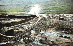 Scene On The Anvil Gold Mine