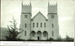 Native Church Postcard