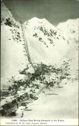 Chilkoot Pass During Stampede To The Yukon