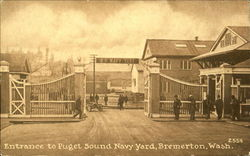 Entrance To Puget Sound Navy Yard