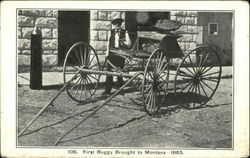 First Buggy Brought To Montana