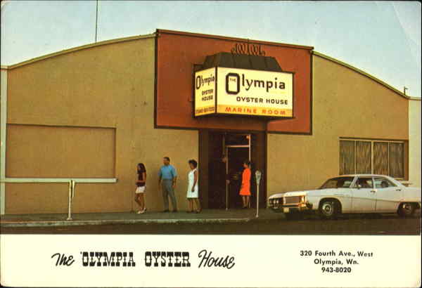 The Olympia Oyster House, 320 Fourth Ave. Washington