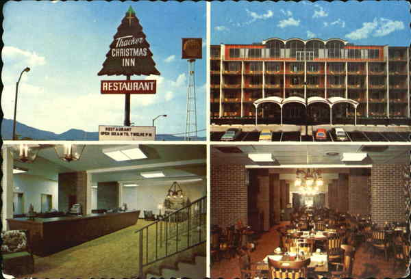 Thacker Christmas Inn, Jct. I-75 & 25W Carryville Tennessee