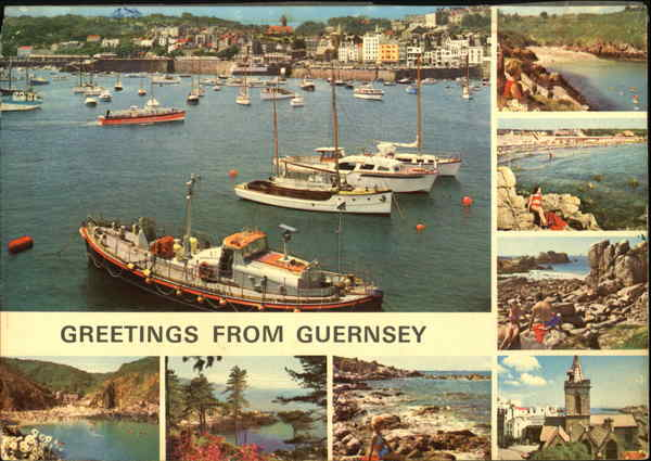 Greetings From Guernsey England