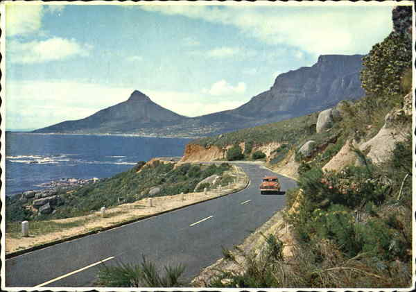 Scenic Roadway South Africa