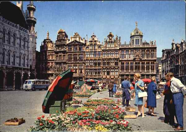 Brussels : Town Square Belgium Benelux Countries