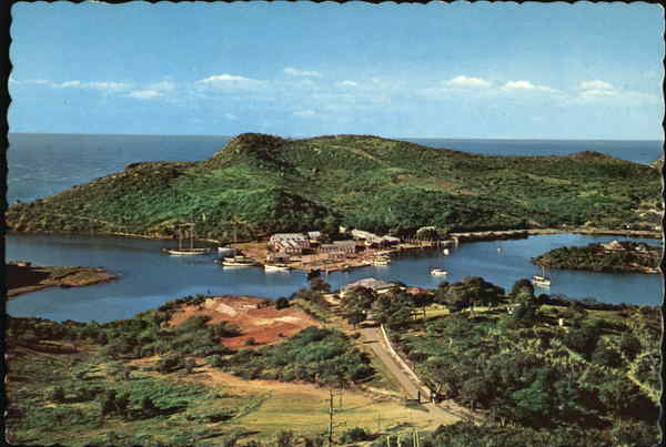 Nelson's Dockyard From Dow's Hill Antigua Caribbean Islands