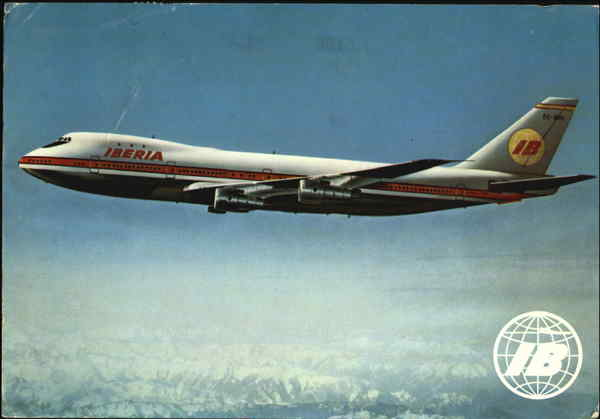 Boeing - 747 Jet Spain Aircraft