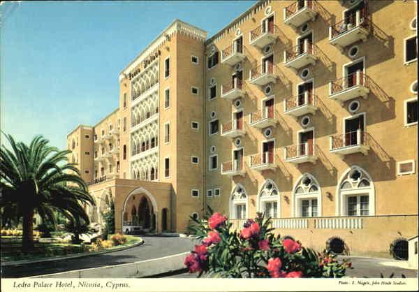 Ledra Palace Hotel Micosia Cyprus Greece Turkey Balkan