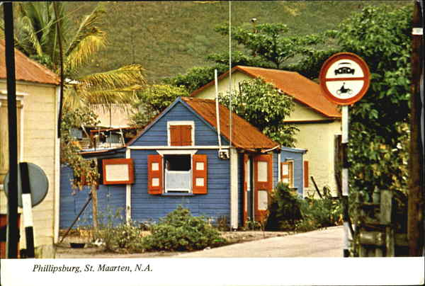 Phillipsburg Philipsburg St. Maarten Caribbean Islands