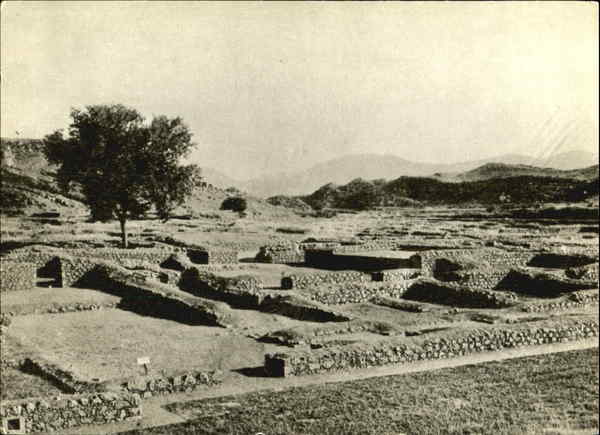 General View Sirkap Site Taxila Pakistan
