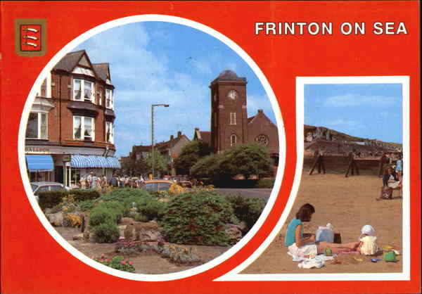 Frinton On Sea, Connaught Avenue and Beach England