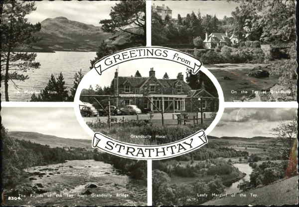 Greetings From Strathtay UK