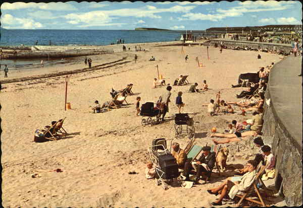 Beach And Promenade Salthill Ireland