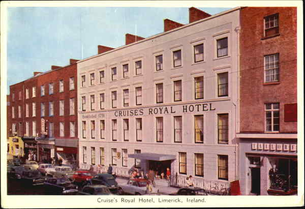 Cruise's Royal Hotel Limerick City Ireland