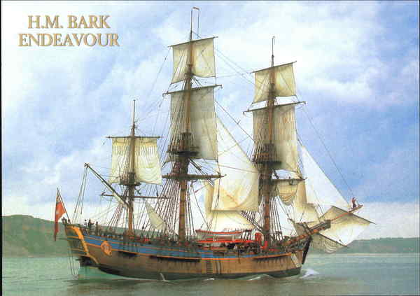 H. M. Bark Endeavour Boats, Ships