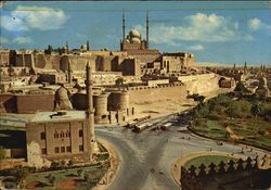 The Citadel And Mohamed Aly Mosque Postcard