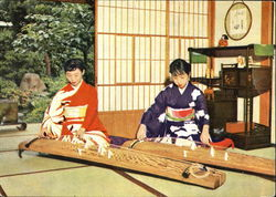 Playing The Koto