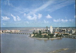Bird's Eye View Recife Postcard