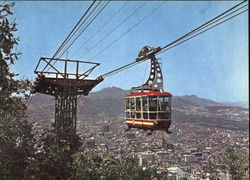 Cable Car In Nam San Mt