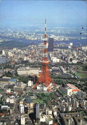Tokyo Tower And World Trade Center Building