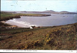 St. David's Whitesands Bay And Ramsey Island Postcard