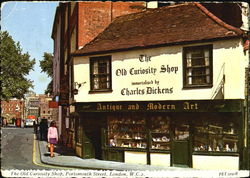 The Old Curiosity Shop, Portsmouth Street Postcard