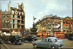 London Piccadilly Circus Postcard