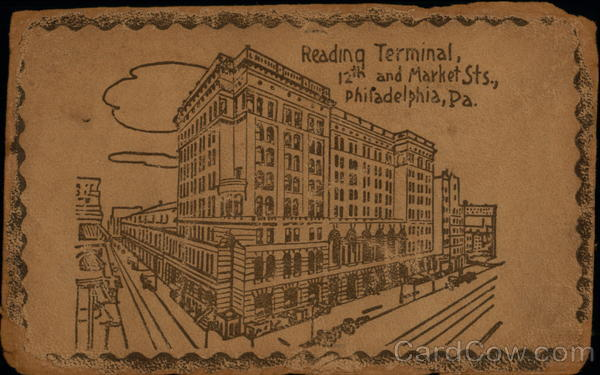 Reading Terminal, 12th And market Sts Philadelphia Pennsylvania