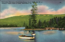 Fulton Chain of Lakes - Old Forge Postcard