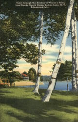 Wilson's Point from Sandy Beach Camp Postcard