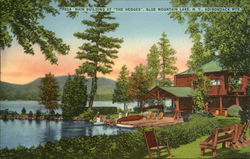 "Lot of 100: Main Building at ""The Hedges,"" Adirondack Mts."