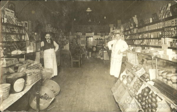 Early General Store Interior Buildings