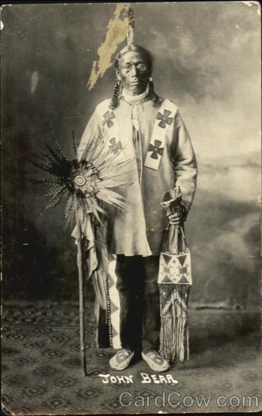 John Bear Studio Photo Native Americana