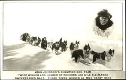 John Johnson's Champion Dog Team