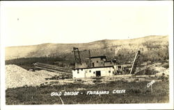 Gold Dredge, Fairbanks Creek