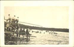 Swimming And Bathing At Lake Spenard