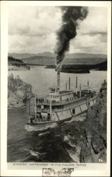 Steamer Whitehorse In Five Fingers Rapids