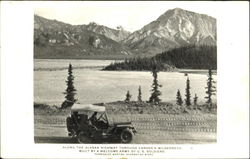 Along The Alaska Highway Through Canada's Wilderness Postcard